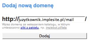 Maskowanie impleBOT.pl na impleSITE.pl